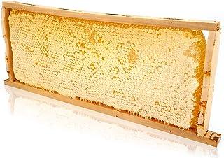 Panal de miel ImkerPur® en miel de acacia altamente aromática (cosecha 2019), 2200 g, en caja fresca de alta calidad y apta para alimentos
