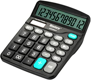 VERSCOS 2-Way 12 Digit Large Clear Screen Calculator Financial Accounting Inventory Office Home Stationery