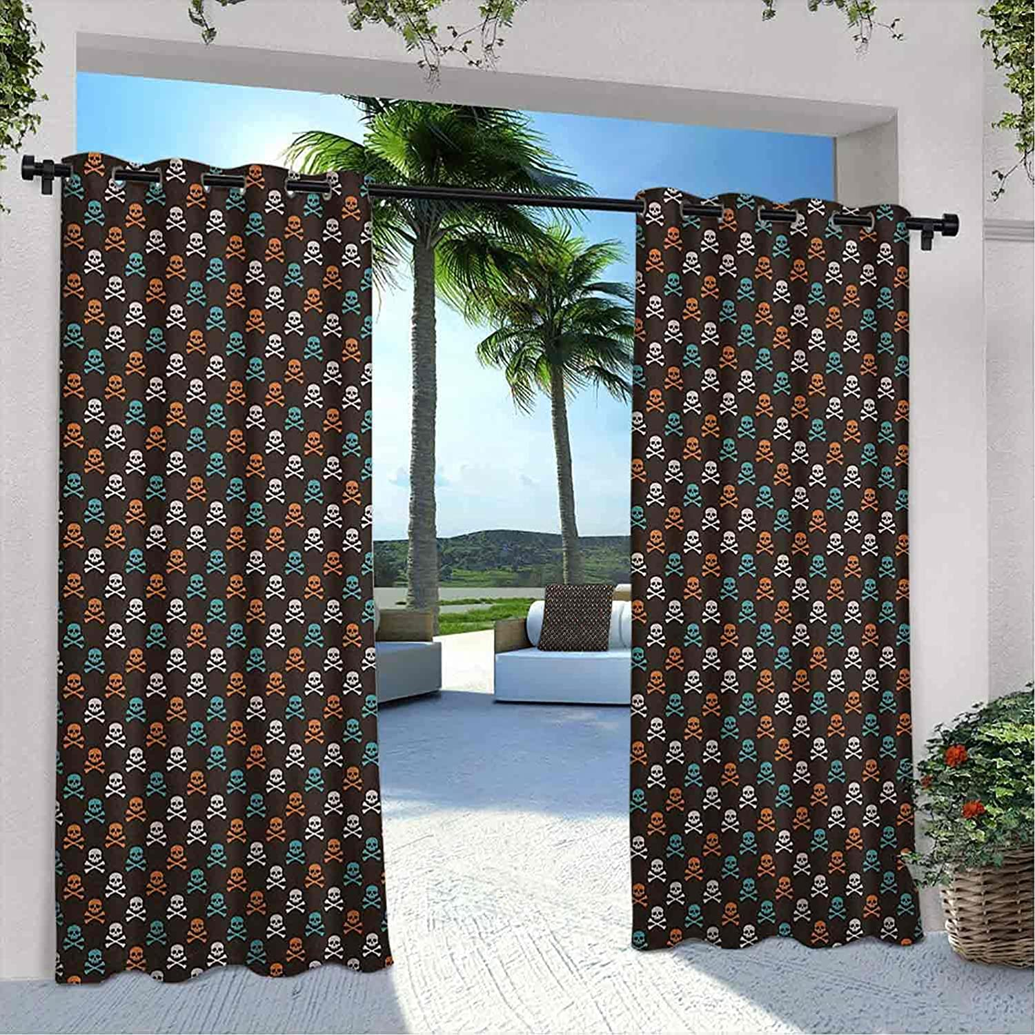 Courtyard Outdoor Pirates Max 51% OFF Curtain Classic Graphic Colored Different Sku