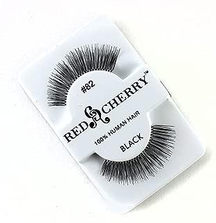 Red Cherry False Eye Lashes #106 (6 Pack) + Free iBeautiful Sample