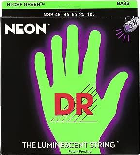 DR Strings HI-DEF NEON Acoustic Guitar Strings (NGB-45)