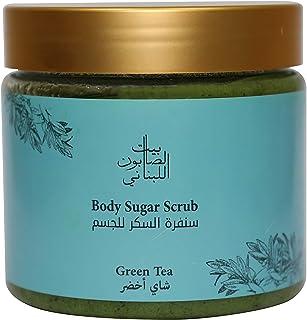 Bayt Al Saboun Al Loubnani Body Sugar Scrub Green Tea 500g