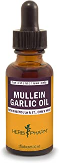 garlic mullein oil