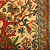 THE ART BOX Grande arazzo da Parete Albero della Vita - Telo Mare Indiano, Etnico - 100% Cotone - copridivano/copriletto, Pareo, Multiuso, 210x230 Cm, Giallo #3