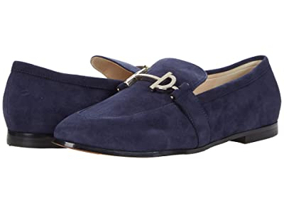 Cole Haan Modern Classics Loafer (Marine Blue Suede) Women