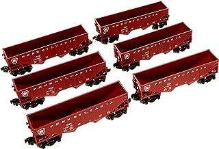 Lionel Pennsylvania Hopper, Electric O Gauge Model Train Cars, 6-Pack