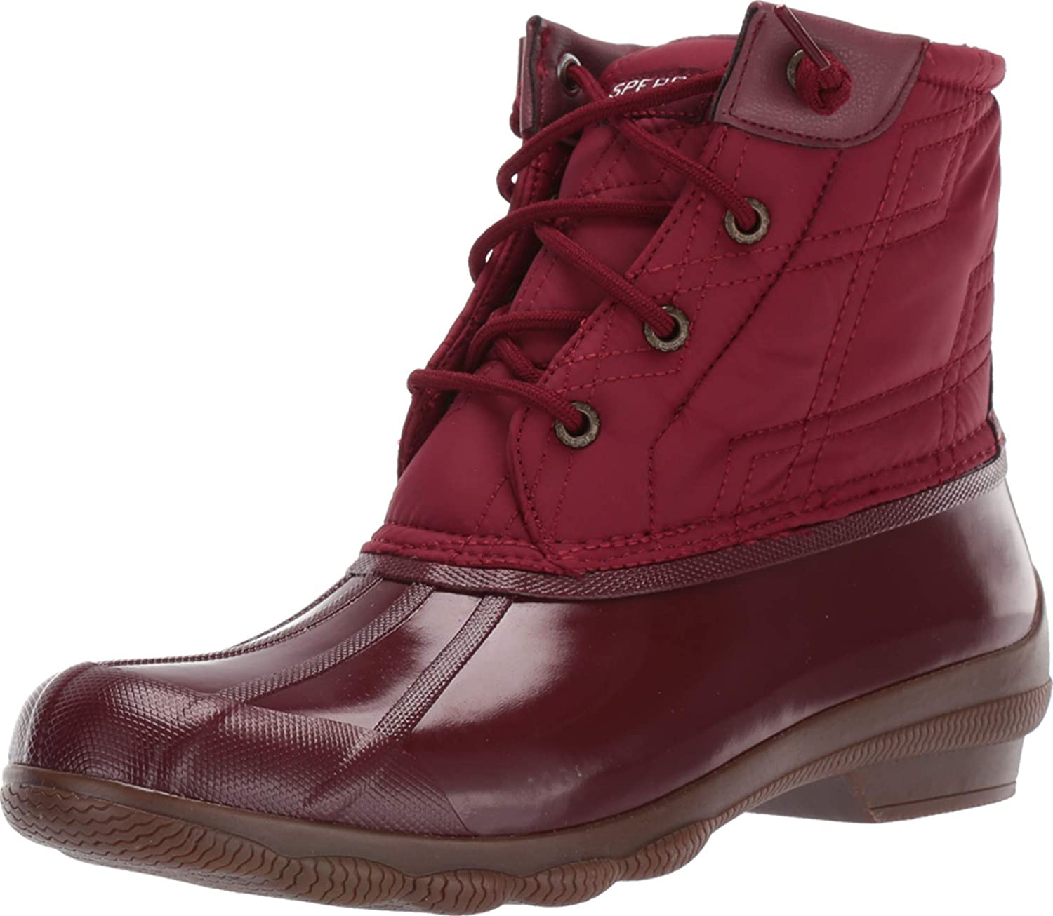 Sperry Syren Gulf Quilted Nylon Oxblood