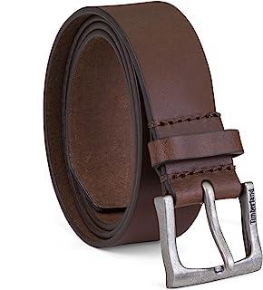 حزام للسروايل من الجلد بنمط كلاسيكي للرجال من تمبرلاند بعرض 1.4 انش (الاحجام الكبيرة والطويلة متوفرة)