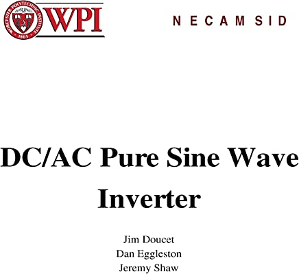 Amazon com: Pure Sine Wave Inverter Design: Books