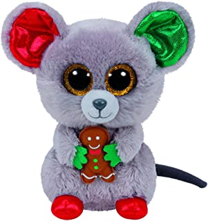 TY Beanie Boo Plush - Mac the Mouse 15cm (Christmas Exclusive)
