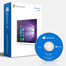 Windows 10 Home OEM 64 Bit DVD English Language | Full OEM Product Packaged