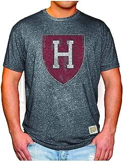 Elite Fan Shop NCAA Mens Retro T Shirt Soft Charcoal