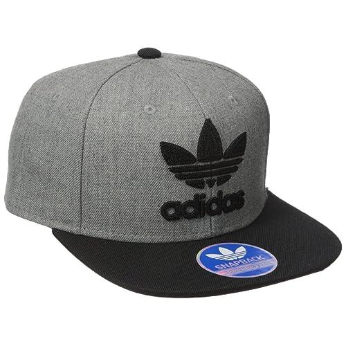 adidas Men s Originals Snapback Flatbrim Cap 5d7dfde3f8c