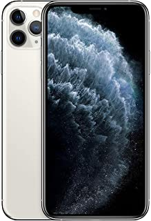 Apple iPhone 11 Pro Max With facetime Physical Dual SIM -  64GB, 4G, LTE, Silver, International Version