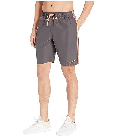 Nike 9 Perforated Diverge Volley Shorts (Gunsmoke) Men