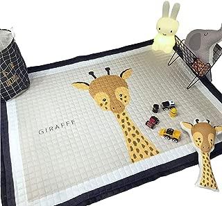 IHEARTYOU Baby Crawling Mat Cute Giraffe Play Carpet Children Bedroom Decor Living Room Rugs