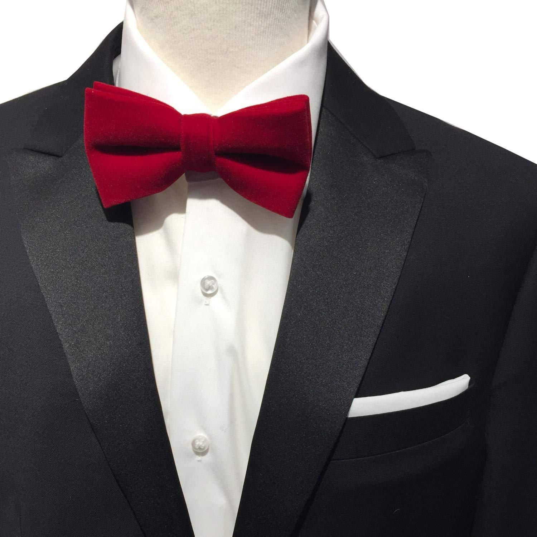 Hombre de terciopelo mosca vorgebunden + Gratis – Cabeza Toalla Set, lazo algodón rojo y kavalier Lino/algodón color blanco ideal para camisa, traje, Smoking o chaqueta: Amazon.es: Iluminación