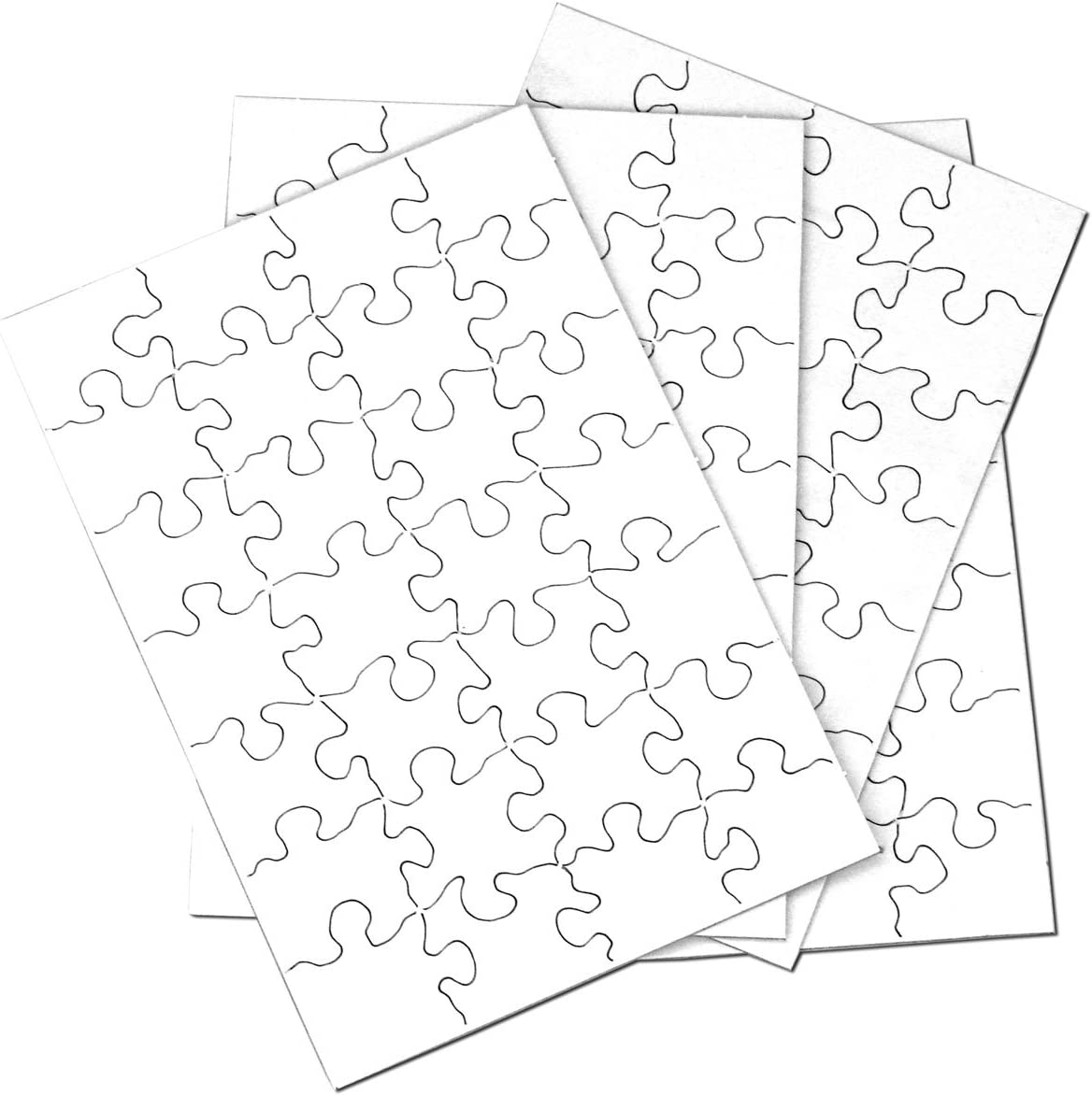 Inovart Puzzle-It low-pricing Blank Puzzle SEAL limited product