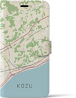 クロスフィールド(Crossfield)【国府津】地図柄iPhoneケース(手帳タイプ・ナチュラル)iPhone 11 Pro Max 用