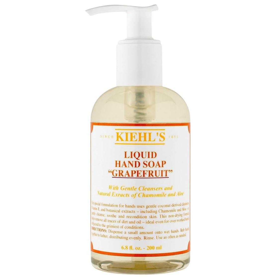 リーダーシップへこみ必要[Kiehl's ] キールズのハンドクレンザー(ポンプ)250ミリリットル - Kiehl's Hand Cleanser (Pump) 250ml [並行輸入品]