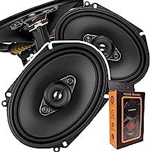 $74 » Pair of Pioneer 5x7/ 6x8 Inch 4-Way 350 Watt Car Audio Speakers | TS-A6880F (2 Speakers) + Free Gravity Mobile Bracket Holder