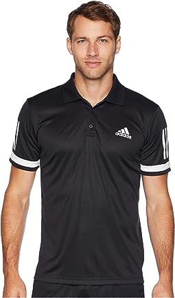 Tennis Club 3-Stripe Polo