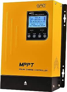 60A MPPT Solar Charge Controller DC 12V24V48V Auto Battery Regulator PV 150V Input MPPT Charge Controller for Lithium, Sealed, Gel, and Flooded Batteries