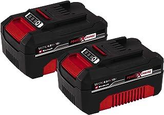 Einhell 4511489 Battery, red, Black