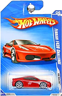 Hot Wheels 2010 HW Racing Red Ferrari F430 Challenge
