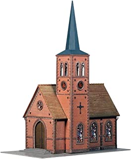 Faller 130239 Town Church HO Scale Building Kit, Small