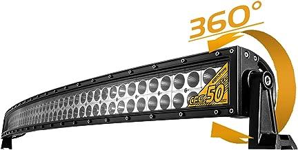 "Curved LED Light Bar, Eyourlife 50"" 288W Flood Spot Combo Beam Off Road Driving Fog Lamp for SUV Ute ATV Truck 4x4,17280LM"