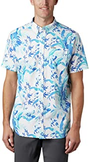 Columbia Men's Big and Tall Rapid Rivers Printed Short Sleeve Shirt