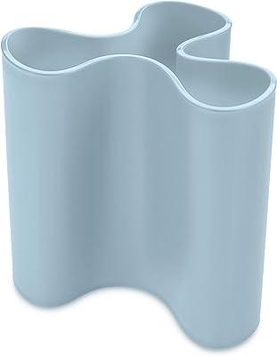 "Koziol""Clara M Vase Powder Blue"