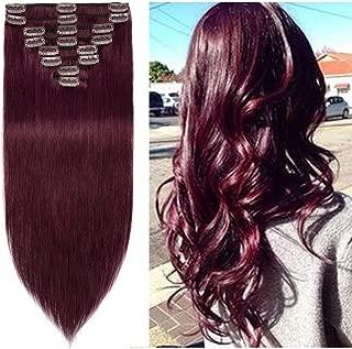 Best sally's burgundy hair extensions Reviews