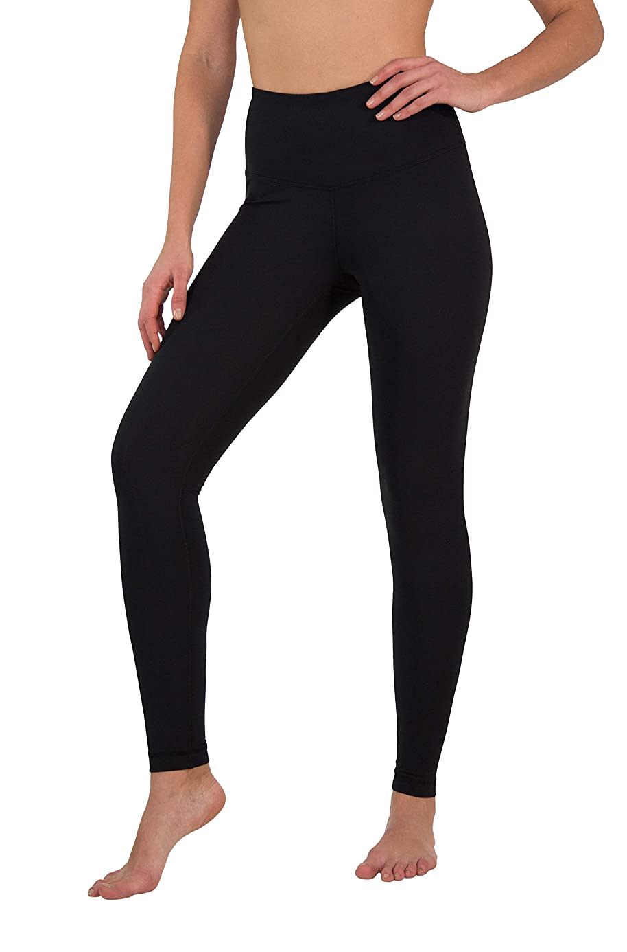 Yogalicious High Waist Ultra Soft Lightweight Leggings -? High Rise Yoga Pants