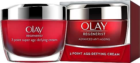 Olay Regenerist 3 Point Age-Defying Treatment Cream Moisturize for Women, 1.7 Ounce