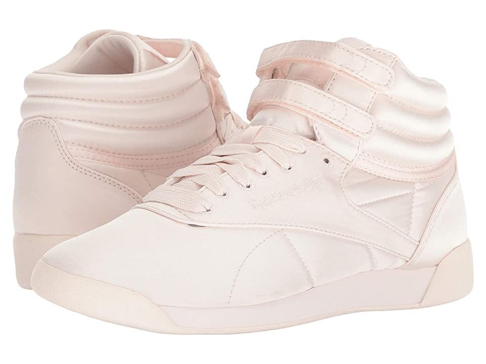 Reebok Kids F/S Hi Lux TXT (Big Kid) (Pale Pink/White) Girls Shoes