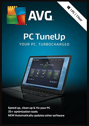 AVG PC TuneUp 2018 1 PC / 12 Mois [Code Jeu ]