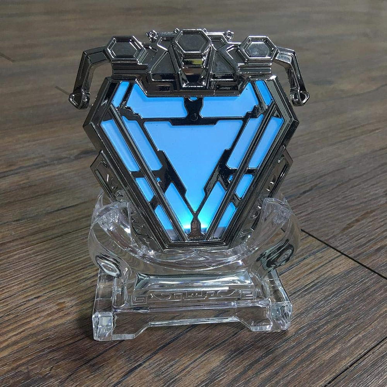 te hará satisfecho BLL Iron Man ARC Reactor luz del Pecho, Pecho, Pecho, Todo el Modelo de galjanoplastia de Metal colección de artesanía  punto de venta