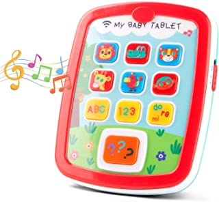 kidpal Learning Tablet Toys for 1 2 Years Old Toddler Baby Toys with Music and Light for 6-24 Months Baby My First Learnin...