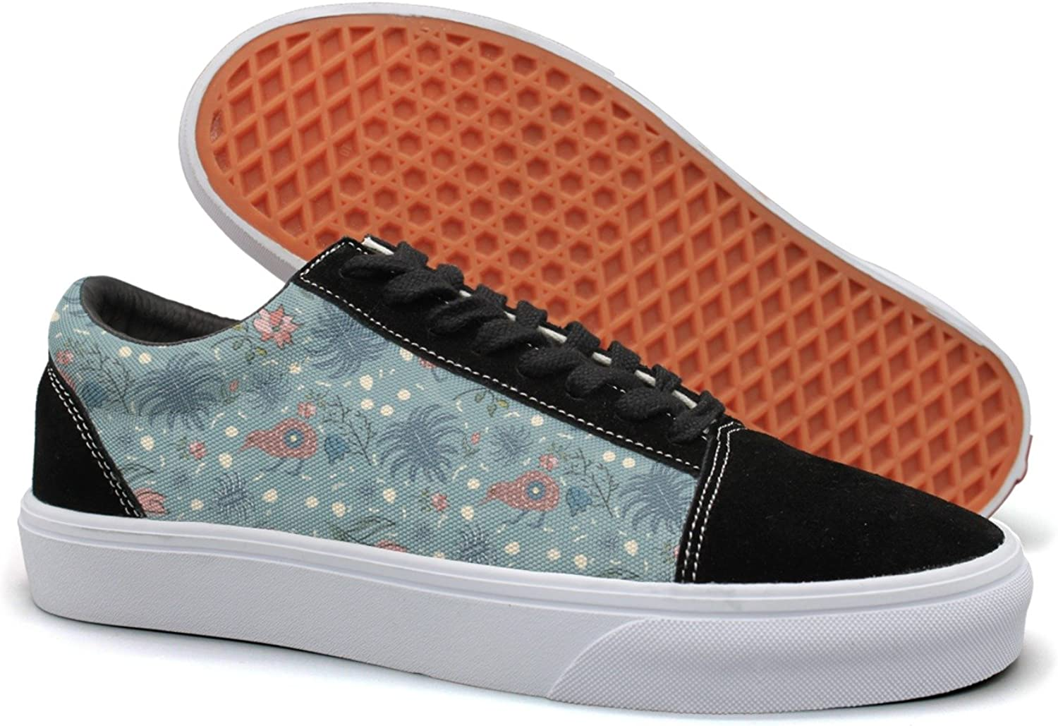 Hjkggd fgfds Casual Exotic Kiwi Bird Young Women Canvas Sneakers shoes