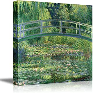 The Water Lily Pond by Claude Monet Giclee Canvas Prints Wrapped Gallery Wall Art   Stretched and Framed Ready to Hang - 24