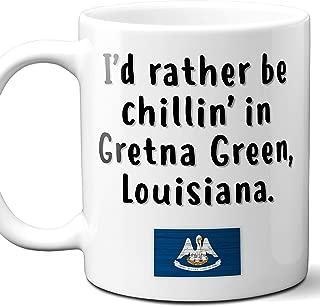 Gretna Green Louisiana Coffee Mug Souvenir Gift.