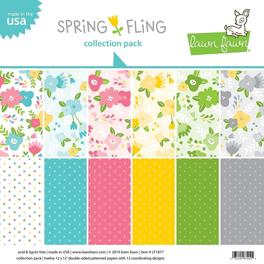 Lawn Fawn Paper Collection Pack - Spring Fling LF1877