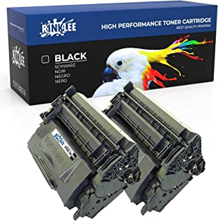RINKLEE CF226X 26X Cartucho de Toner Compatible para HP Laserjet Pro M402d M402dn M402dne M402dw M402n MFP M426dw M426fdn M426fdw | Alta Capacidad 9000 Páginas | Negro, 2-Pack