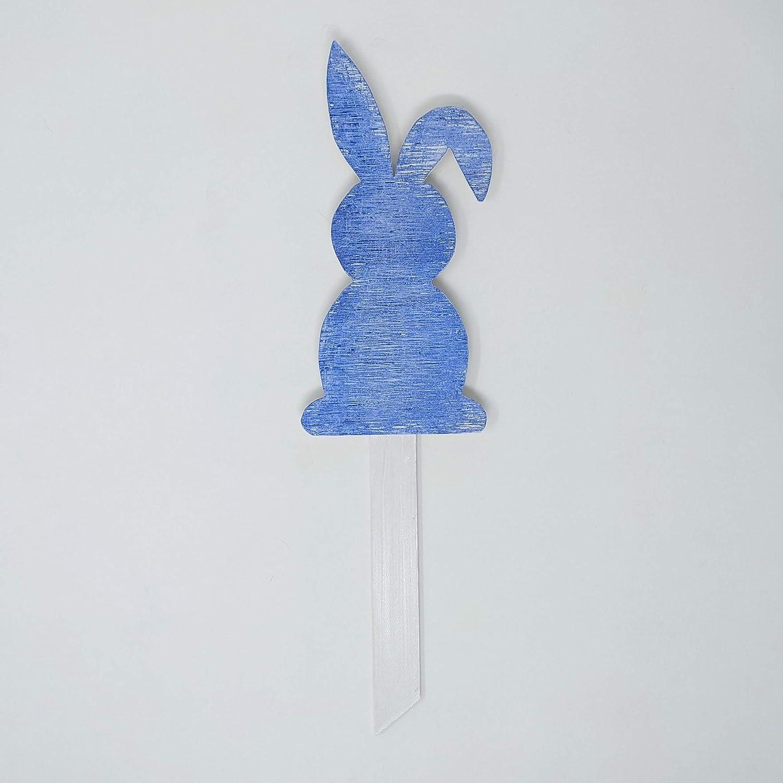 Blue Bunny Choice Plant Washington Mall Stake Handmade USA in -