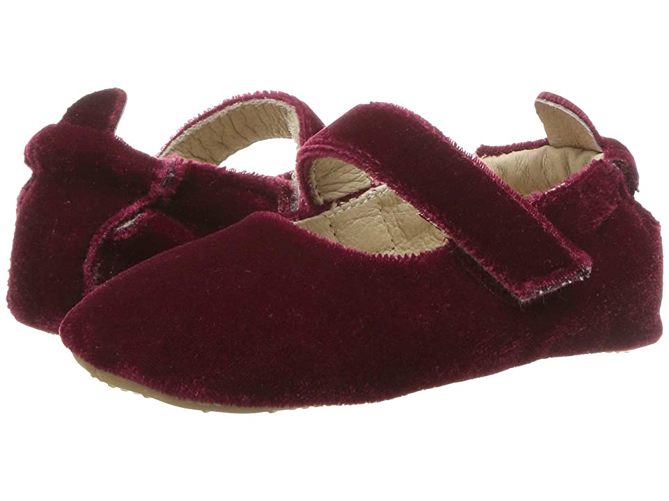 Old Soles Velvey Gabrielle (Infant/Toddler) (Red) Girl