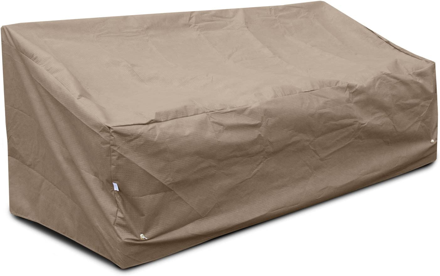 KoverRoos III 39355 Deep Large Sofa Cover, 87-Inch Width by 40-Inch Diameter by 31-Inch Height, Taupe