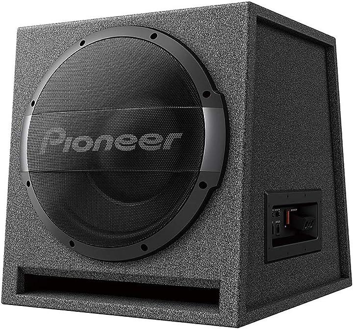 Pioneer ts-wx1210ah - bassreflex-aktivsubwoofer (1.500 w), 30 cm - carhifi aktivwoofer aktivbass