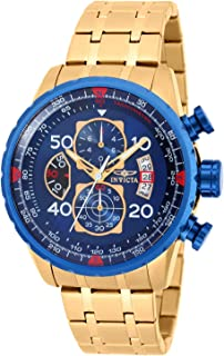 Invicta Mens Quartz Watch, Chronograph Display and Stainless Steel Strap 19173
